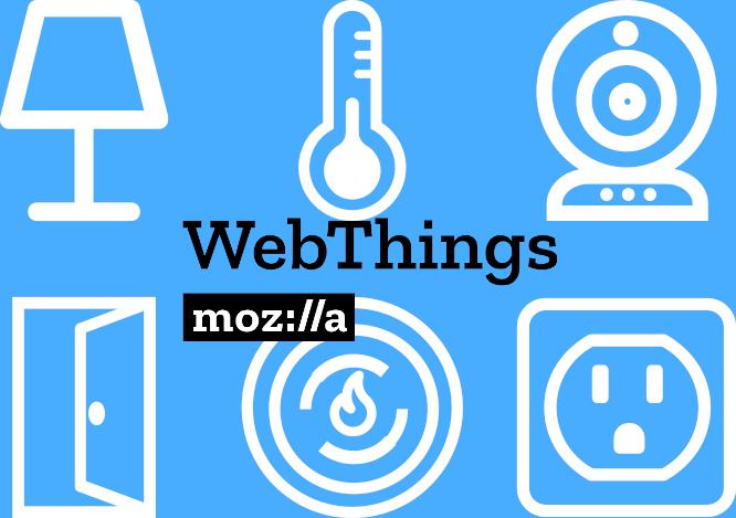 Mozilla webthings banner